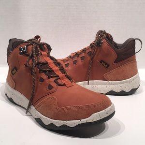 Men's Teva Arrowood Lux Mid Cognac Mid WP Sneaker